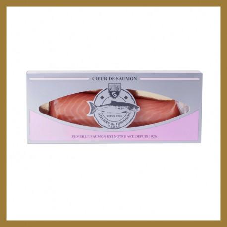Cœur de Filet - Saumon Fumé de Norvège : 150 gr