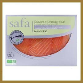 Saumon Fumé BIO - Tranches Larges : 160 gr