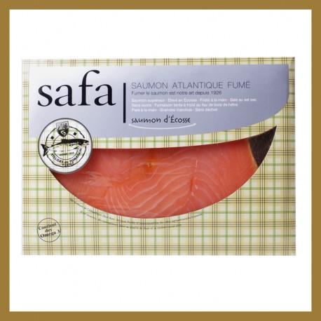 Saumon Fumé d'Ecosse - Tranches Larges : 160 grr