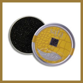 Caviar, Œufs d'Esturgeon Sterlet de Bulgarie : 125 gr