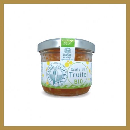 Oeufs de Truite Bio  - Origine France : 90 gr
