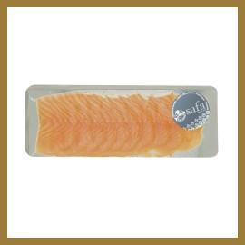 Saumon fumé Sauvage de la Baltique - Filet Prétranché - Façon Main - Tranches Larges : 400 gr